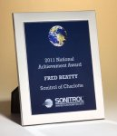 Aluminum Frame Plaque Achievement Awards