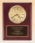 Rosewood Piano Finish Vertical Wall Clock Achievement Awards