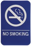 No Smoking ADA Sign ADA Signs