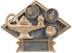 Education - Diamond Plate Resin Trophy All Trophy Awards