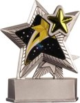 Star - Silver Star Motion Series Resin All Trophy Awards