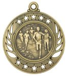 Cross Country Track Galaxy Medal All Trophy Awards