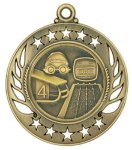 Swimming Galaxy Medal All Trophy Awards