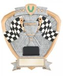 Signature Series Racing Flags Shield Award All Trophy Awards