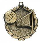Wreath Volleyball Medals All Trophy Awards