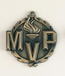 Wreath MVP Medal All Trophy Awards