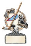 Ice Hockey Multi Color Sport Resin Figure All Trophy Awards