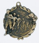 Wreath Cross Country Male Medal All Trophy Awards