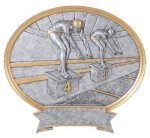Legend Swimming Oval Award All Trophy Awards