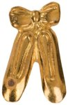 Gold Ballerina Metal Chenille Letter Insignia All Trophy Awards