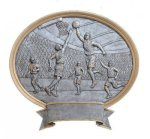 Legend Basketball Oval Award Basketball Trophy Awards
