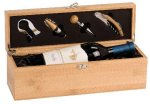 Bamboo Single Wine Bowith Tools Boss Gift Awards