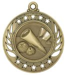 Cheerleading Galaxy Medal Cheerleading Trophy Awards