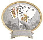 Legend Texas Hold'em Oval Award Circle Awards