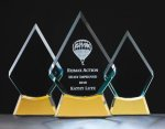 Diamond Clear Glass Awards