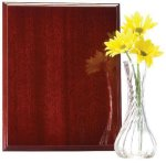 Mahogany Finish Recognition Plaque Coach Trophy Awards
