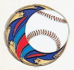 Color Star Baseball Medals Color Star Medals