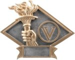 Victory - Diamond Plate Resin Trophy Diamond Awards