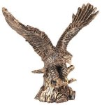 Gold Eagle Resin Trophy Eagles Trophies
