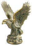 Gold Metal Eagle Trophy Eagles Trophies
