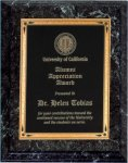 Black Marble Finish Recognition Plaque Economy Plaque Awards