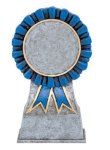 Color Ribbon Resin Mylar Holder Equestrian Trophy Awards