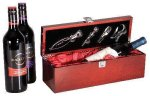 Rosewood Piano Finish Single Wine Bowith Tools Executive Gift Awards