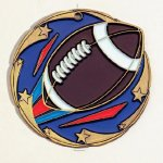 Color Star Football Medals Football Trophy Awards