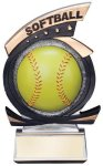 Gold Star Softball Award Gold Star Resin Award Trophies