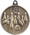 High Relief Medallion - Bowling High Relief Medallion Awards