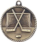 High Relief Medallion - Hockey High Relief Medallion Awards