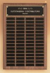 American Walnut Perpetual Plaque Large Perpetual Plaques