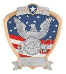 Signature Series Navy Shield Award Military Trophy Awards