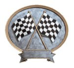 Legend Racing Oval Award Oval Resin Trophy Awards