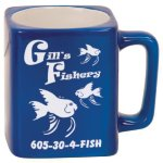 Blue Ceramic Mug Promotional Mugs