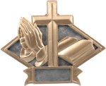Religious - Diamond Plate Resin Trophy Religious Awards