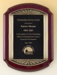 Rosewood Piano Finish Plaque Religious Awards