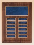 Solid American Walnut Perpetual Plaque Religious Awards