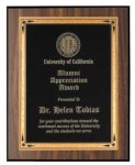 Walnut Finish Recognition Plaque Religious Awards