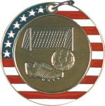 Soccer - Stars & Stripes Medallion Soccer Trophy Awards