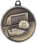 High Relief Medallion - Soccer Soccer Trophy Awards