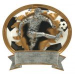 Sport Blaster Legend Soccer Male Sport Blaster Resin Trophies