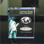 Liberty Acrylic Award Square Rectangle Awards
