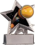 Softball - Silver Star Motion Series Resin Star Awards