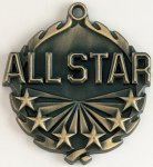 Wreath All Star Medal Star Awards