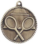 High Relief Medallion - Tennis Tennis Trophy Awards