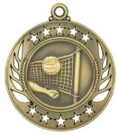 Volleyball Galaxy Medal Volleyball Trophy Awards