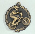 Wreath BMX Medal Wreath Awards