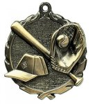 Wreath Baseball Medals Wreath Medal Awards