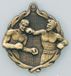 Wreath Boxing Medals Wreath Medal Awards